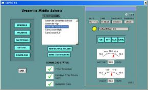 Time Clock Computer Software Screenshot
