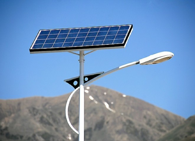 Solar Powered Roadside Lighting